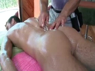 Dude Getting Oiled Up Of Some Anal Massage By Gotrub