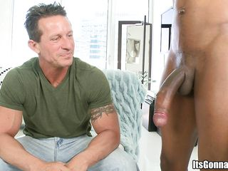 This athletic horny man is ready fro be fucked real hard in his tight shaved ass, ridding it with pleasure and lust. He first starts fro suck it wrapping his juicy lips around it and trying fro swallow it but it was just fro big for his pretty small mouth. Then he rides it like a champion.