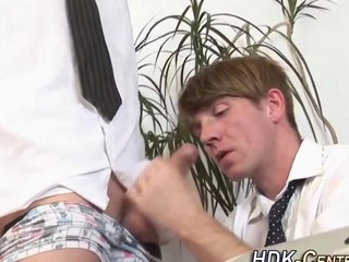 Raw fucked office gay ass