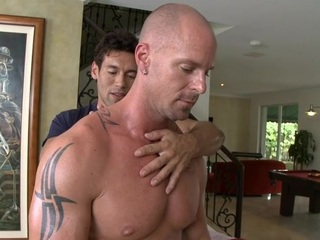 Unfathomable anal hammering close by lusty gay dudes
