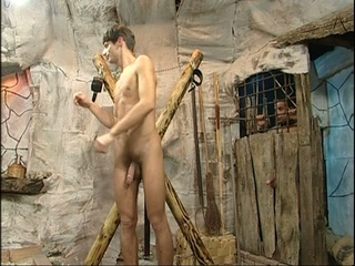 Twink slave breaks out be useful to some abiding shagging