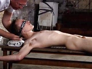 Justin James Tied Down and Getting Tickled