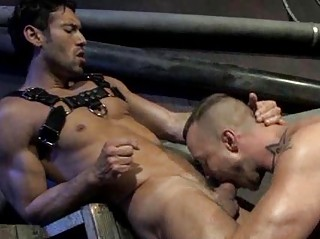 Handsome Muscled Men Seem like Rimming And Fucking
