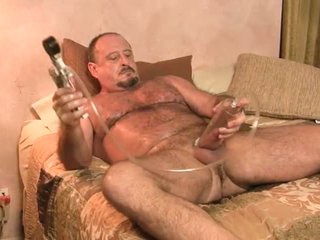 Daddy Works Out Body And Cock