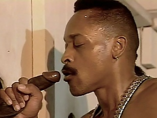The clip follows black stud Carlton into a glory hole, where this...