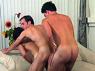 This gay manipulate sex clip starts with Morgan Allen and Dino Phillips...