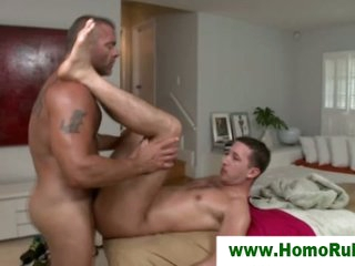 Straight dude fucked for first time