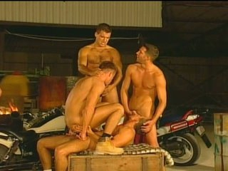 Huge Cocks Flocking in Hot Gay Hardcore Fun