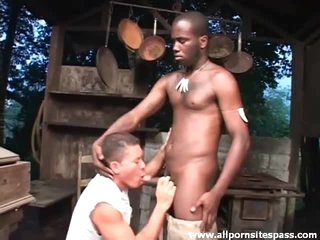 See louring cock sucked by a Latino
