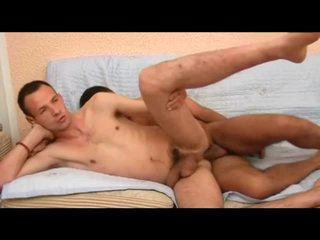 Facial closes out this gay anal video