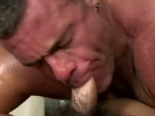 Amateur straighty gets sucked off by gay adhere to