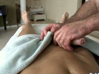 Amazing fucking guy lose concentration loves dildos regarding his big muscular butt!