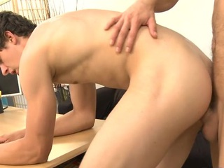 Juvenile stud is arousing stud with salacious knob engulfing