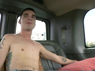 Overflowing of sated cumshots during sexy gay lose one's heart to